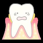 歯周病が進行中