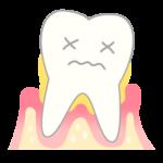 歯が歯周病に侵された!